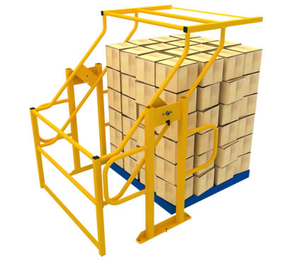 Pallet Gates - Raised Storage Area - Warehouse Storage - Appcon ...